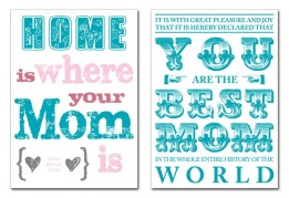Forget a Mother's Day card - rather get one of these quirky canvases designed by Nevertheless. Available through Hello Pretty @ R320 each | http://hellopretty.co.za/nevertheless-canvas-and-wall-art/worlds-best-mom-block-mounted-canvas